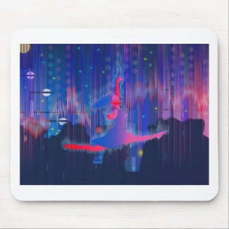 Dancing Through New Year Mouse Pad
