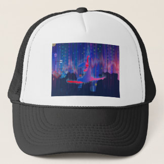 Dancing Through New Year Trucker Hat