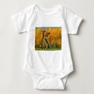 Dancing Tigers Baby Bodysuit