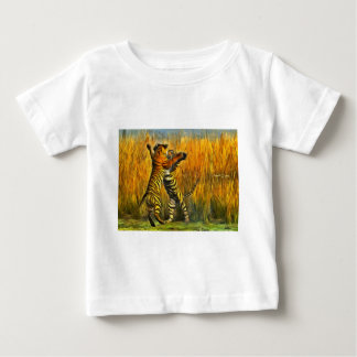 Dancing Tigers Baby T-Shirt