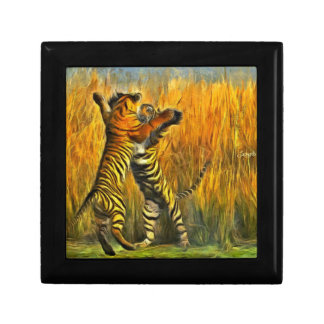 Dancing Tigers Gift Box
