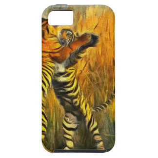 Dancing Tigers iPhone 5 Case