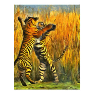 Dancing Tigers Letterhead