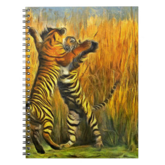 Dancing Tigers Note Book