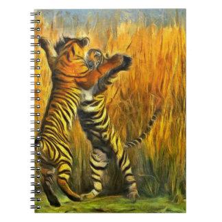 Dancing Tigers Notebook