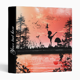 Dancing with the birds in the sunset binders