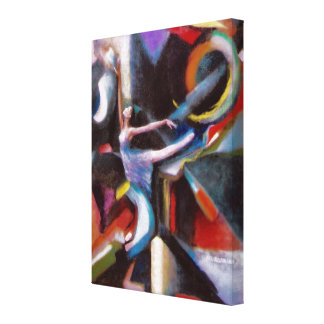 Dancing With The Wind on Wrapped Canvas