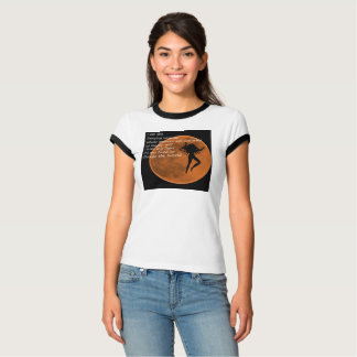 Dancing Woman over the Moon T-Shirt