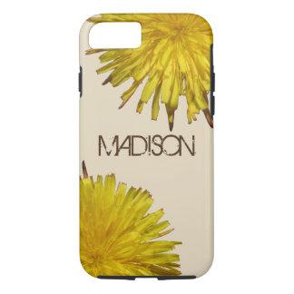 Dandelion 1   Typography ifon87 Cool Wildflower Case-Mate iPhone Case