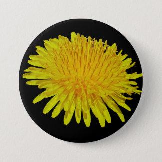 dandelion 3 inch round button