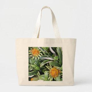 Dandelion a la Van Gogh Large Tote Bag