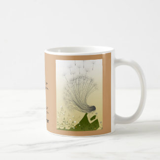 dandelion art work, The Official Military Brat ... Coffee Mug