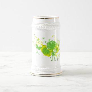 Dandelion Beer Stein