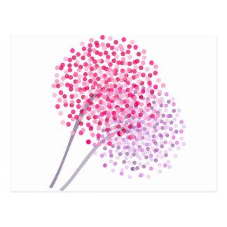 Dandelion Blooms Postcard