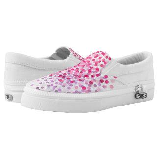 Dandelion Blooms Slip-On Sneakers