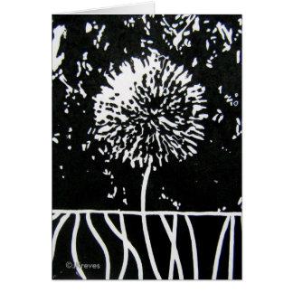 Dandelion Blossom Card