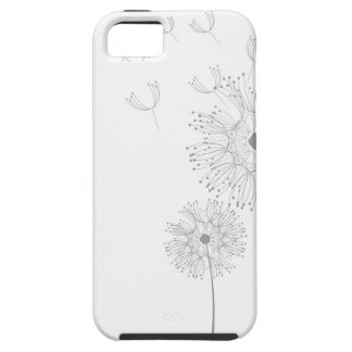 Dandelion Blossoms Vines Romantic Wedding Shower iPhone 5 Covers