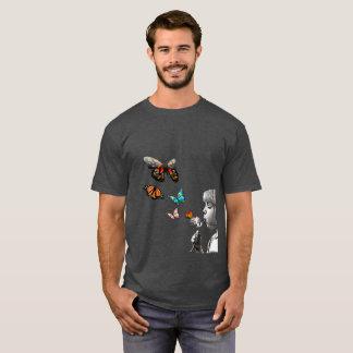 Dandelion Butterflies Girl - Colorful Print T-Shir T-Shirt