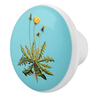 Dandelion Ceramic Knob