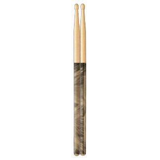 Dandelion Closeup in Black White Drumsticks