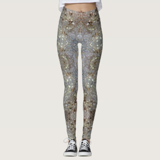 Dandelion Crystal design Leggings