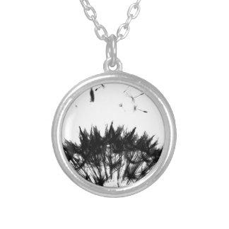 Dandelion Dreams Silver Plated Necklace