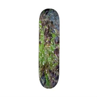 dandelion edited photo skateboard deck