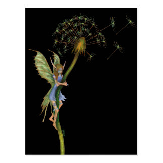 Dandelion Faery (with War Paint) Postcard