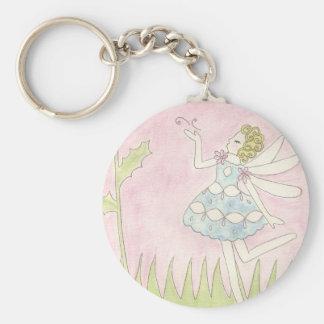 Dandelion Fairy Keychain