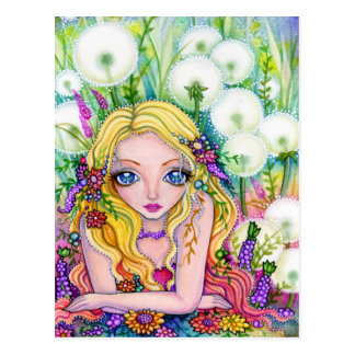 Dandelion Fairy Kingdom - Postcard