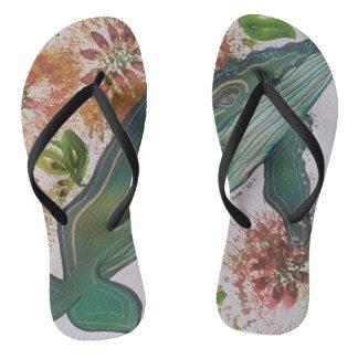 Dandelion Flip Flops
