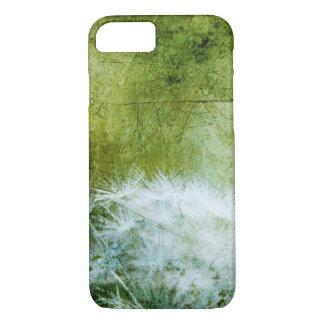 Dandelion Floral Art Phone case, Green iPhone 7 Case