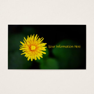 Dandelion Flower Business Cards