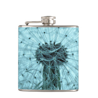 Dandelion Flower Hip Flask