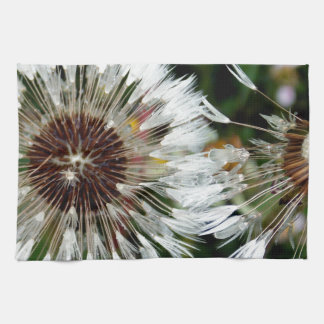 Dandelion Flower Kitchen Towel