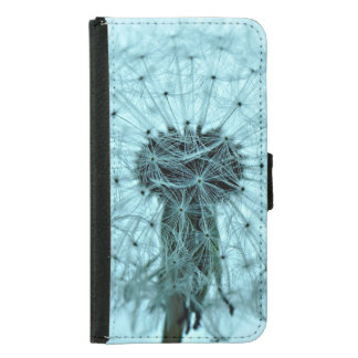 Dandelion Flower Samsung Galaxy S5 Wallet Case