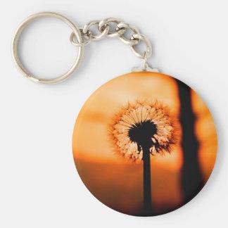 Dandelion Flower (Tooth of Leon) Keychain