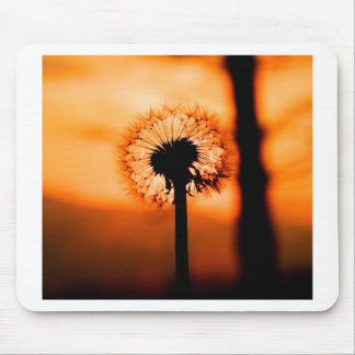 Dandelion Flower (Tooth of Leon) Mouse Pad