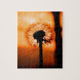 Dandelion Flower (Tooth of Leon) Puzzle