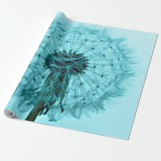 Dandelion Flower Wrapping Paper