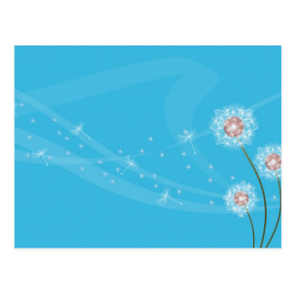 Dandelion Fun Postcard