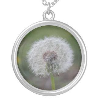 Dandelion Fuzz Necklace