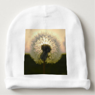dandelion in the sun baby beanie