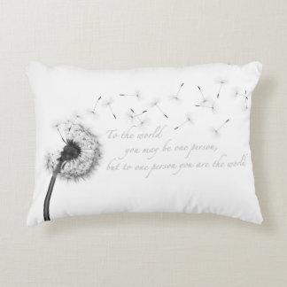 Dandelion Inspiration Accent Pillow