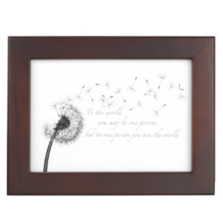 Dandelion Inspiration Keepsake Box