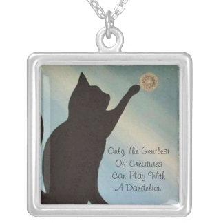 Dandelion Kisses Necklace - Cat