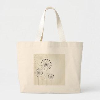 Dandelion Large Tote Bag