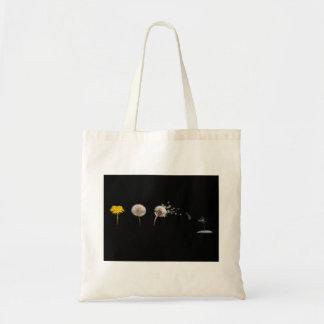Dandelion Life Cycle Budget Tote Budget Tote Bag