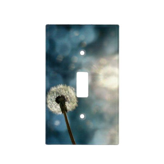 Dandelion Light Light Switch Cover