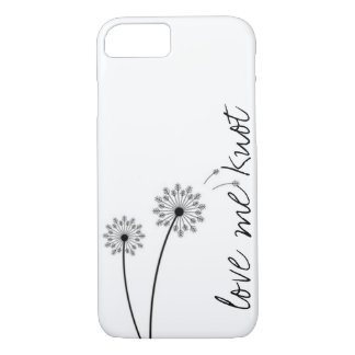 Dandelion Love Me Knot iPhone 7 case